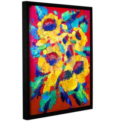 Brushstone Sunflower on Shingel Roof 3-pc. Canvas Art