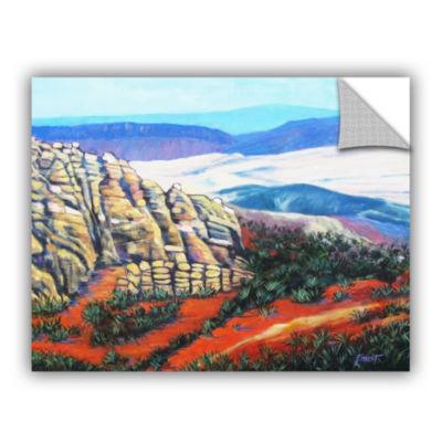 Brushstone Brushstone Rainy Paris Evening 4-pc. Gallery Wrapped Staggered Canvas Wall Art