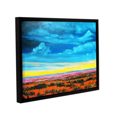 Brushstone Brushstone Provence Moonrise 2 GalleryWrapped Floater-Framed Canvas Wall Art