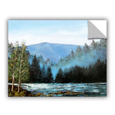 Brushstone Brushstone Hemispheres Gallery WrappedCanvas Wall Art