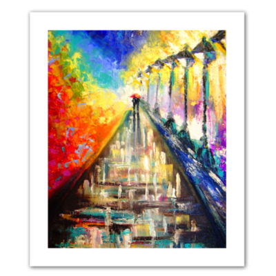 Brushstone Orbis Gallery Wrapped CanvasWall Art