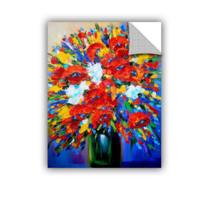 Brushstone Dream Before Gallery WrappedFloater-Framed Canvas Wall Art