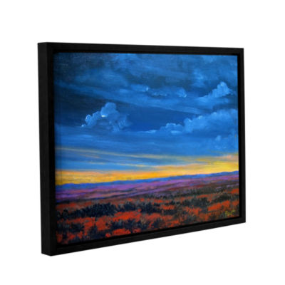 Brushstone Sail On Gallery Wrapped Framed Canvas Wall Art