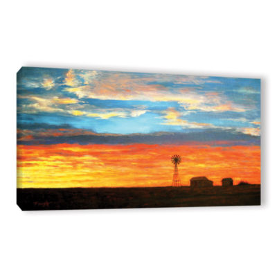 Brushstone Brushstone Back to Green Gallery Wrapped Canvas Wall Art