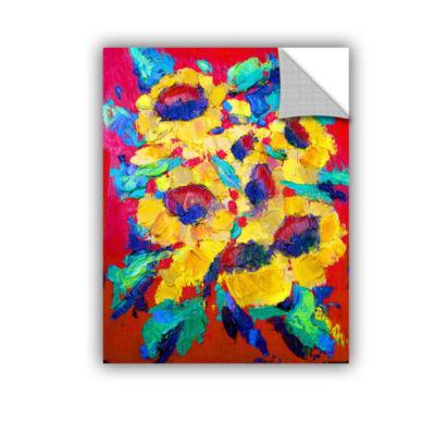 Brushstone Brushstone StaticeFlying 4-pc. GalleryWrapped Canvas Wall Art