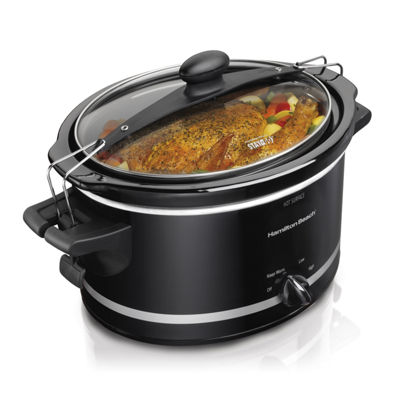 Hamilton Beach Stay or Go 4 Qt. Slow Cooker