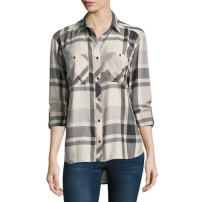 Columbia Sportswear Co. Long Sleeve Button-Front Shirt
