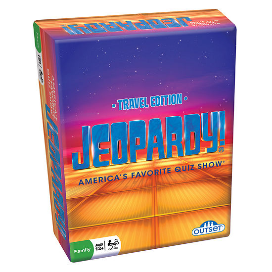 Outset Media Jeopardy Travel Edition Game