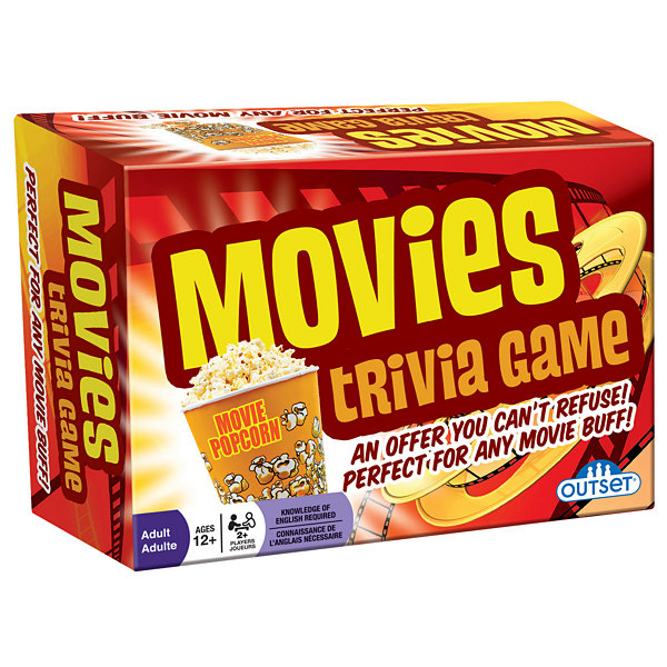 Outset Media Movies Trivia Game
