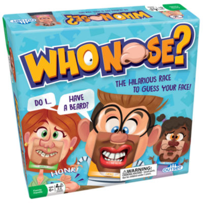 Outset Media Who Nose? The Hilarious Race To Guess Your Face Game