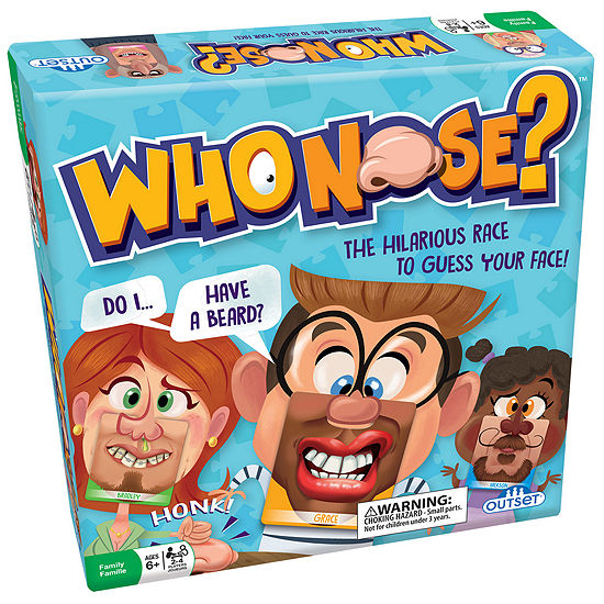 Outset Media Who Nose The Hilarious Race To Guess Your Face Game