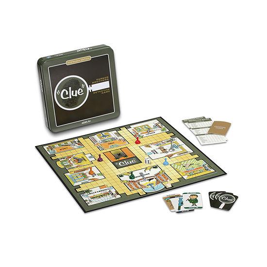 Clue Board Game - Nostalgia Edition Game Tin