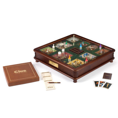 Winning Solutions Clue Luxury Edition Board Game