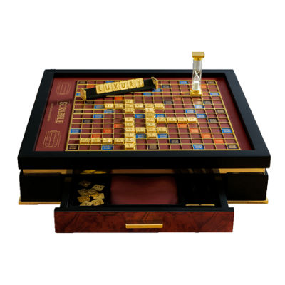 Winning Solutions Franklin Mint Collector'S Edition Scrabble