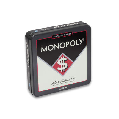 Winning Solutions Monopoly Board Game - NostalgiaEdition Game Tin