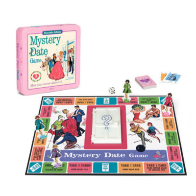 Winning Solutions Mystery Date Board Game - Nostalgia Edition Game Tin