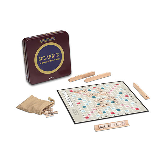 Scrabble Board Game - Nostalgiaedition Game Tin