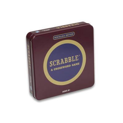 Winning Solutions Scrabble Board Game - NostalgiaEdition Game Tin