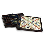 Winning Solutions Scrabble Game Deluxe Wooden Edition