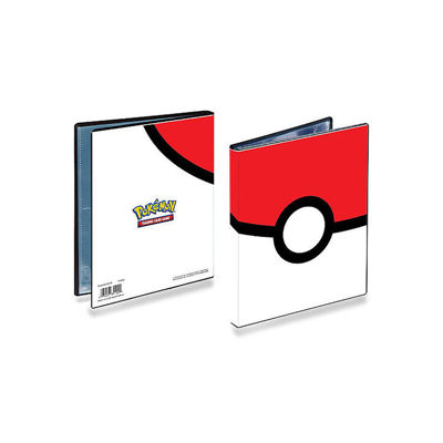 Ultra Pro 4-Pocket Pokémon Portfolio: Poke Ball