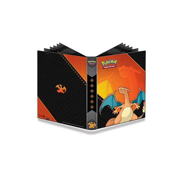 Ultra Pro 9-Pocket Pokémon Full-View Pro Binder:Charizard