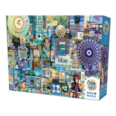 Cobble Hill All Things Blue Puzzle - 1000 Pieces