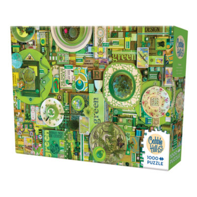 Cobble Hill All Things Green Puzzle - 1 000 Pieces