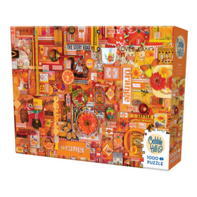 Cobble Hill All Things Orange Puzzle - 1 000 Pieces