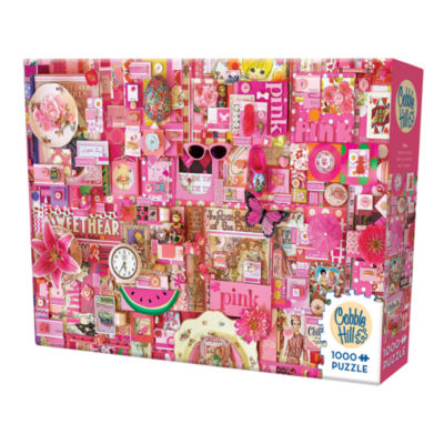 Cobble Hill All Things Pink Puzzle - 1 000 Pieces