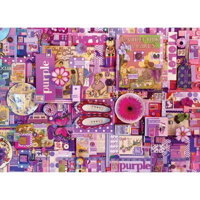 Cobble Hill All Things Purple Puzzle - 1000 Pieces