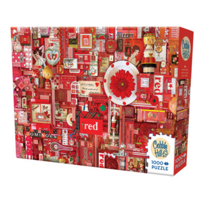 Cobble Hill All Things Red Puzzle - 1000 Pieces