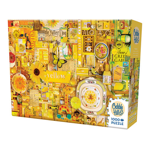 Cobble Hill All Things Yellow Puzzle - 1000 Pieces