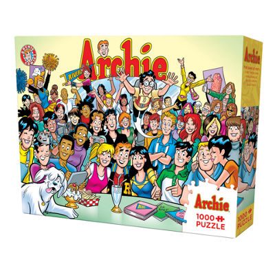 Cobble Hill Archie - 'The Gang At Pop'S 1 0000 Piece Puzzle