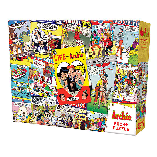 Archie Covers Puzzle - 500 Pieces