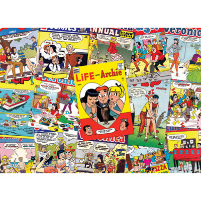 Cobble Hill Archie Covers Puzzle - 500 Pieces