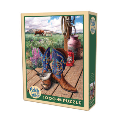 Cobble Hill Boots Puzzle - 1000 Pieces