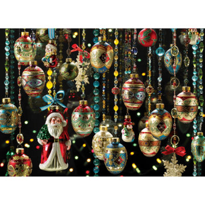 Cobble Hill Christmas Ornaments Puzzle - 1000 Pieces