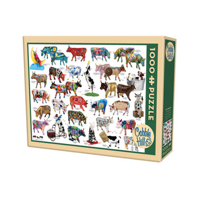 Cobble Hill Cow Parade Puzzle - 1000 Pieces