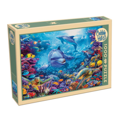 Cobble Hill Dolphins At Play Puzzle - 1 000 Pieces