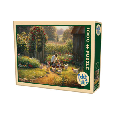 Cobble Hill Feeding Time Puzzle - 1000 Pieces