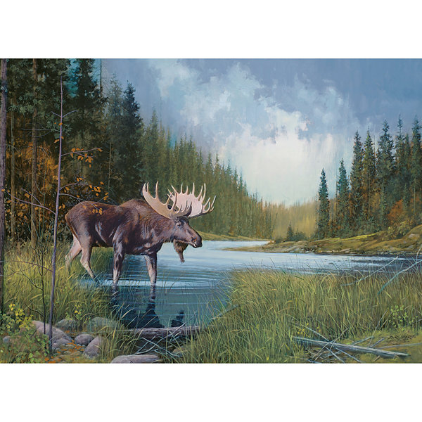Cobble Hill Moose Lake Puzzle - 1000 Pieces