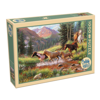 Cobble Hill Mountain Thunder Puzzle -1000 Pieces