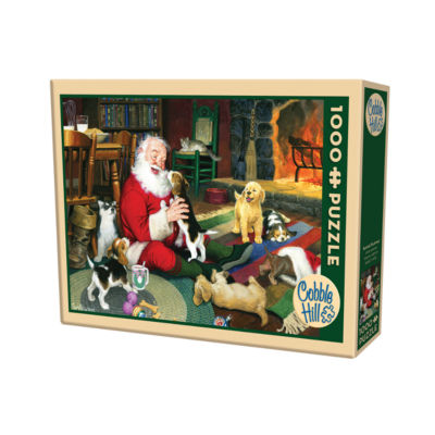 Cobble Hill Santa's Playtime Puzzle - 1000 Pieces