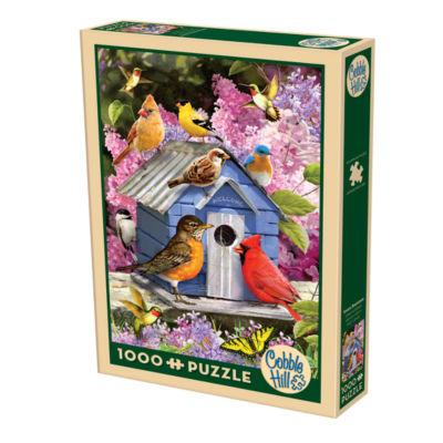 Cobble Hill Spring Birdhouse Puzzle - 1000 Pieces