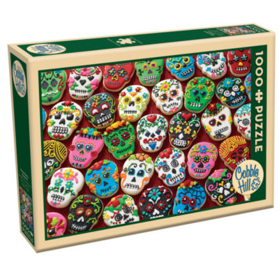 Cobble Hill Sugar Skull Cookies Puzzle - 1 000 Pieces