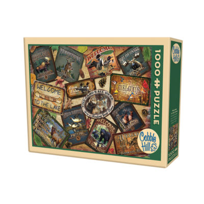 Cobble Hill Welcome To The Lodge Puzzle - 1 000 Pieces