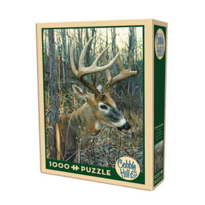 Cobble Hill White-Tailed Deer Puzzle - 1000 Pieces