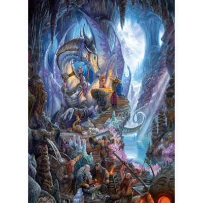 Cobble Hill: Dragon Forge 1000 Piece Jigsaw Puzzle