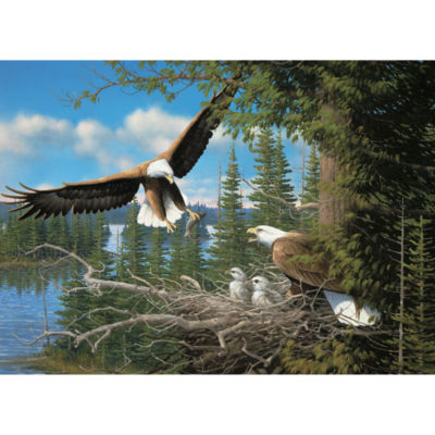 Cobble Hill: Nesting Eagles 1000 Piece Jigsaw Puzzle