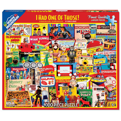 White Mountain Puzzles I Had One Of Those! - 1000 Piece Jigsaw Puzzle